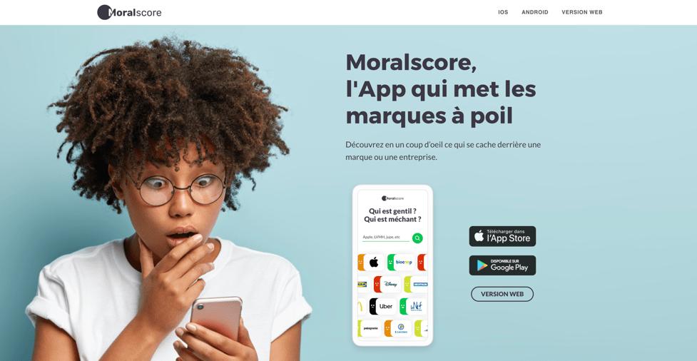 Client Moralscore. Pademas est une agence web présente à Aubenas et Lyon pour créer votre site internet.